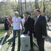 Konfertansjerzy i spikerzy – Powitanie pucharu Euro 2012
