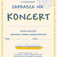 Kreowanie wizerunku – Plakaty na koncerty