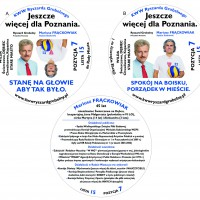 Kreowanie wizerunku – Projekty materiałów wyborczych