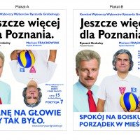 Kreowanie wizerunku – Projekty plakatów