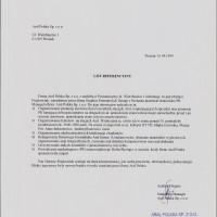 Wspólpraca z klientami – Referencje Aral