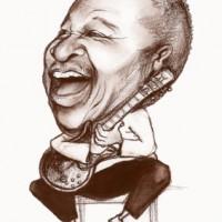 Karykatura – bbking_szkic