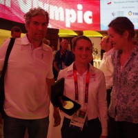 Klub Olimpijczyka – Z S. Bogacką w Londynie