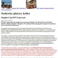 Konferansjerzy i spikerzy – O Simplus CUP w WP-pl